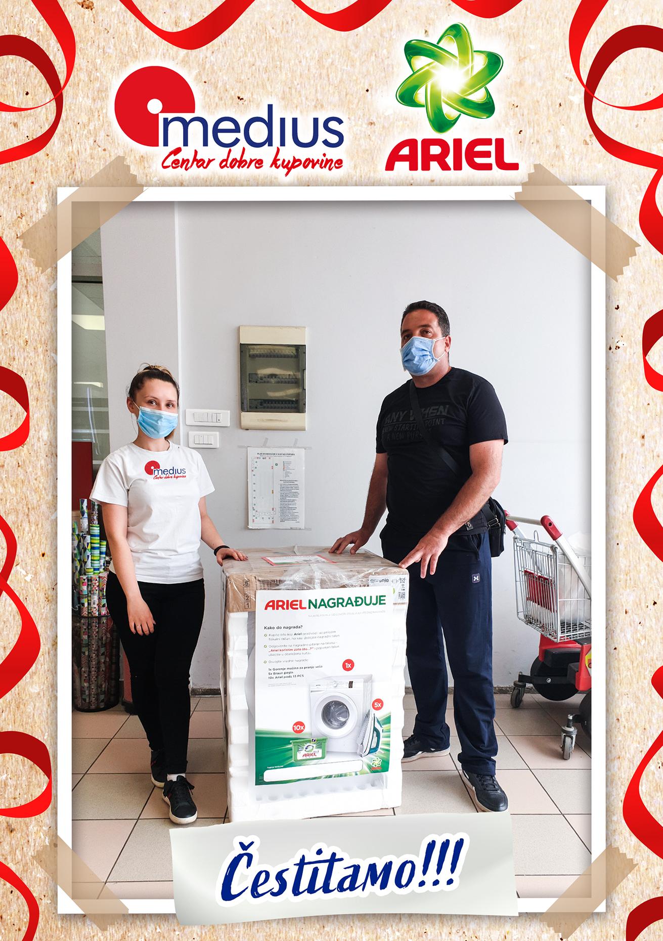 Ariel nagradni konkurs - Ves masina